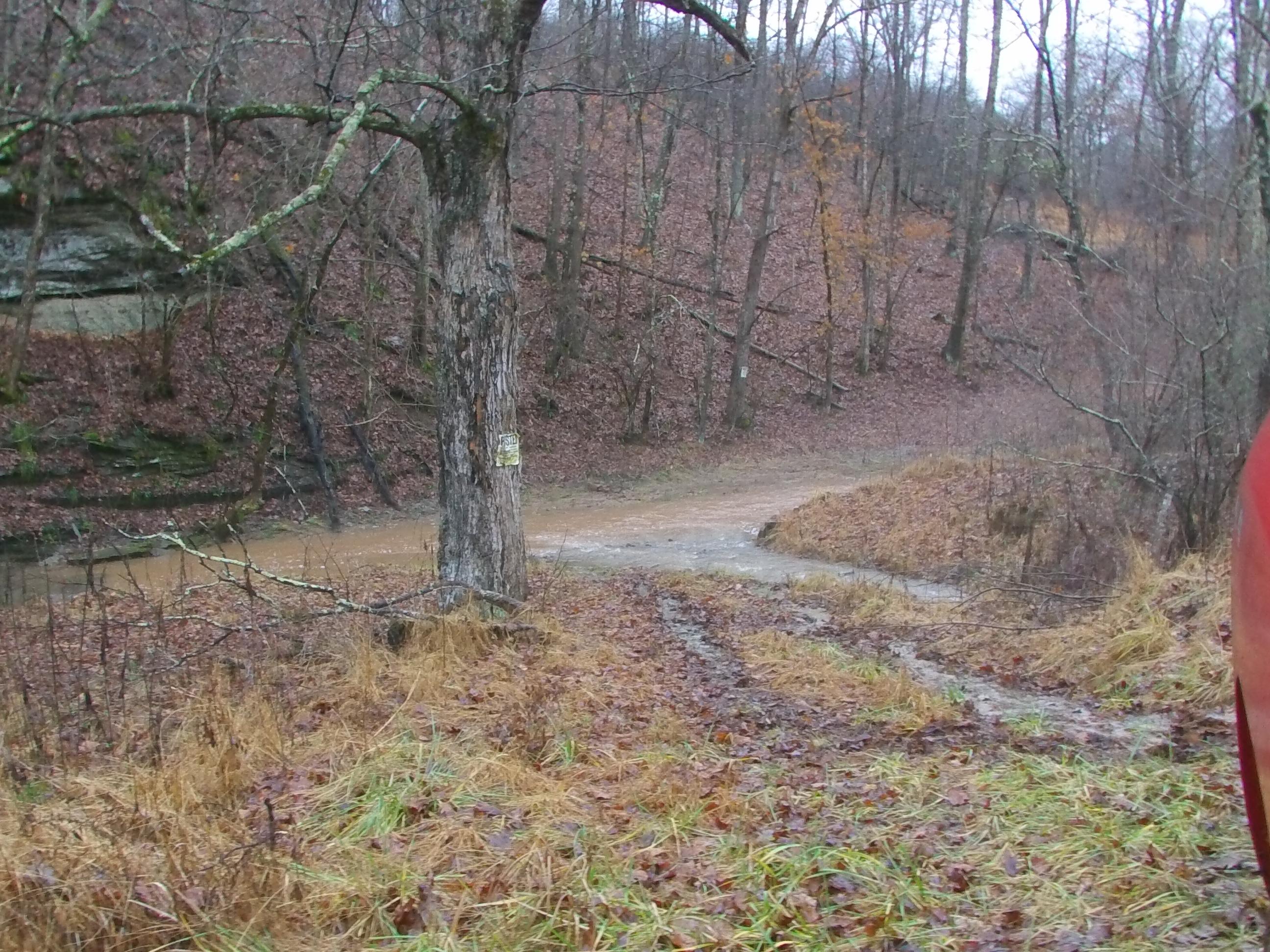 Access Across Creek